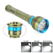 Underwater 200m 40000LM 7x XM-L2 LED Scuba Diving Flashlight Dive Torch Lamp