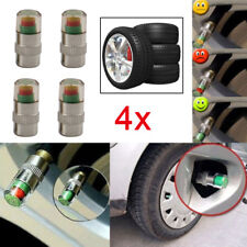 4x 36PSI Car Auto Tire Pressure Monitor Valve Stem Caps 3 Color Sensor Indicator