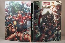 Marvel Vs Capcom 3 Fate of two worlds steelbook + game  Playstation 3 Ps3