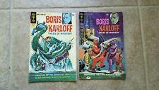 Boris Karloff Tales of Mystery Comic book lot of 2 1960's
