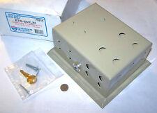 "New listing Mars 70216 Btg-54Vlw Nos Thermostat Metal Locking Guard Beige 6"" 3-13/16"" 3-1/8"""