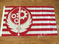 Brotherhood of Steel Flag 100D Polyester Game Custom Banner Events Decoration
