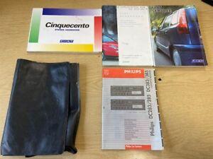 FIAT CINQUECENTO OWNERS HANDBOOK , SERVICE BOOK , AFTERCARE BOOK