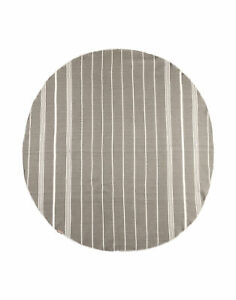 ESPADRIJ Round Beach Plaid / Towel Size 150 CM HANDMADE Quick-Drying Striped