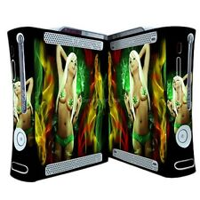 Cool Sexy Girl Xbox360 Skins Vinyl Sticker Decals Cover for xbox360 Console 246