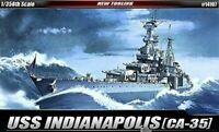 [Academy] #14107 1/350 USS CA-35 Indianapolis Military Ship