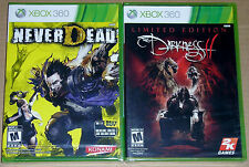 XBox 360 Game Lot - Never Dead (New) The Darkness II (New)