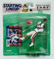 QUINN EARLY - Buffalo Bills - Kenner NFL Starting Lineup SLU 1997 Figure & Card