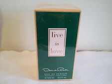 OSCAR DE LA RENTA LIVE IN LOVE WOMENS EDP PERFUME FRAGRANCE 100ML NEW SEALED
