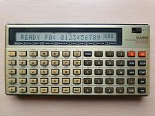 CASIO FX-702P Programmable Calculator, BASIC PC Pocket Computer #590