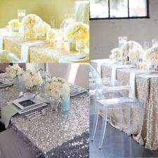 Plus Size Glitter Sequin Tablecloth Table Cloth Wedding Birthday Party Banquet