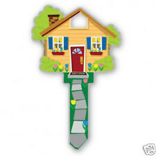 HOUSE SHAPE - NOVELTY HOUSE KEY BLANK - LW4 C4 - Uncut