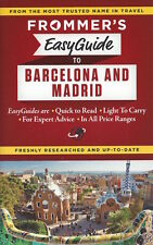 Frommer's EasyGuide to Barcelona & Madrid (Spain) *IN STOCK IN MELBOURNE*