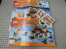 Lego Legends of Chima - 70143 Sir Fangar's Saber-Tooth Walker instruction books