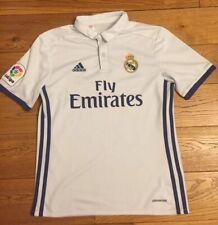 Vintage Retro Real Madrid Adidas Ronaldo Cr7 Football Shirt Age 11/12 Years