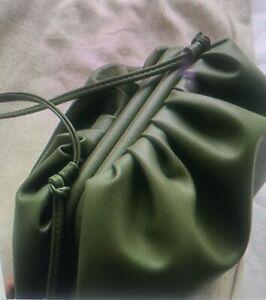 Celeb stile  The Pouch Shoulder Bag Clutch Cloud Bag Star Clutch Bag Green