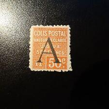 FRANCIA COLIS (PACCHI) POSTALI N°84 NUOVO CON GOMMA ORIGINALE VALUTAZIONE