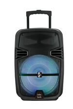 """#1 15"""" inch Portable Bluetooth Speaker Sub woofer Heavy Bass Sound System Party"""