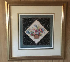 "Mary Engelbreit ""Floral Basket #2� Print 25X25"