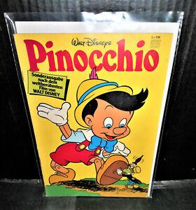 Pinocchio von Walt Disney , Comic Hefte,, Ehapa Verlag,1978 (805) Micky Maus