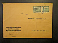 Germany SC# B96 Pair on Cover - Z4017