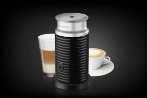Nespresso Aeroccino3 3594-US-BL CAPPUCCINO LATTE  Milk Frother Black New 120V