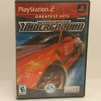 Need for Speed Underground Greatest Hits Complete PS2 Sony Playstation 2
