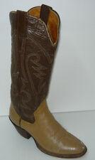 Vintage Beige-Brown Leather SANDERS Boots Sz 5C