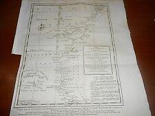 1760 PREVOST COPPER PLATE AFRICA WEST COAST FROM GIBRALTAR CAPE VERDE SCHLEY