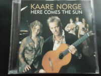 KAARE   NORGE   -   HERE  COMES  THE  SUN ,  CD  1996 ,   CLASSICAL  GUITAR