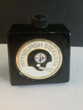 Avon 1970's Nfl Decanter Wild Country After Shave 6Oz. Pittsburgh Steelers