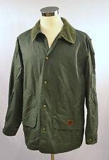 Vintage WOOLRICH Men's Blanket Lined Coat Nylon Blend SIZE XL Loden Green
