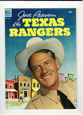 Dell JACE PEARSON OF THE TEXAS RANGERS #4 Nov-Jan 1954 vintage comic FN-