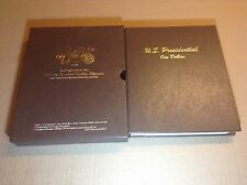 2007-2016 PRESIDENTIAL $1 -  COMPLETE 78 COIN SET UNCIRCULATED P & D IN DANSCO