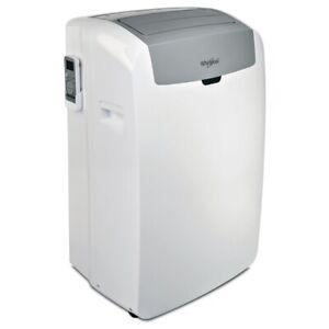 Whirlpool PACW29COL Mobiles Klimagerät EEK: A Silent-Modus 2800W 9554 BTU