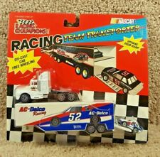 1995 Racing Champions Micro Team TRANSPORTER NASCAR Ted Musgrave Family Channel