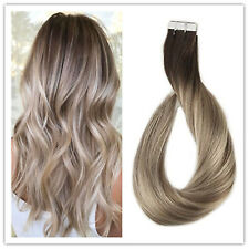 "Full Shine20""5pcs Tape in Hair Extensions Human Hair Balayage Tape HairExtension"