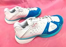 NEW Wilson RUSH PRO HC W Women's Tennis Shoe White/Pool/Oceana List $129 SIZE 6