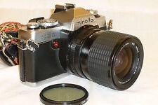 MINOLTA XG1 35mm SLR CAMERA w/ SIGMA ZOOM 35-70mm 1:2.8-4 MC LENS