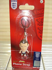 Wayne Rooney MicroStars Phone Strap Charm Corinthian England Football BNIP
