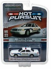 1:64 Greenlight *HOT PURSUIT R22* 2011 Ford Crown Victoria CAPITOL POLCE Wash DC