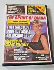 Princess Diana the Spirit of Diana DVD 2004 Crystal Prince William Extra Footage