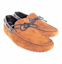 S-1783149 New Tods Woven Lace Suede/Leather Driver Shoes Size US 9/marked 8