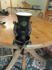 More details for spong no.1 coffee grinder gen victorian curved handle & tray spong & co london
