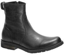 Harley Davidson Carlemo Mens Leather Biker Zip-Up Ankle Boots
