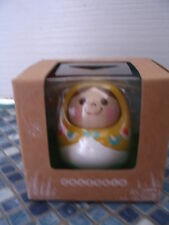 UNAZUKIN VINTAGE YES/NO ORANGE NODDING DOLL BANDAI BRAND NEW VERY RARE