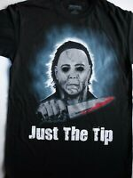 Michael Myers Halloween Just The Tip Horror Movie T-Shirt