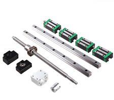 Hgr20 200mm-1000mm 2Pcs Linear Guide Rail & 1Pcs Sfu1605 Ballscrew Set For Cnc