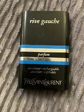 vintage yves saint laurent Rive Gauche Parfum Rechargeable Refillable Spray Rare