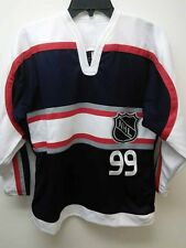 Reebok Youth 2001 NHL All Star Jersey Wayne Gretzky Navy  sz L/XL